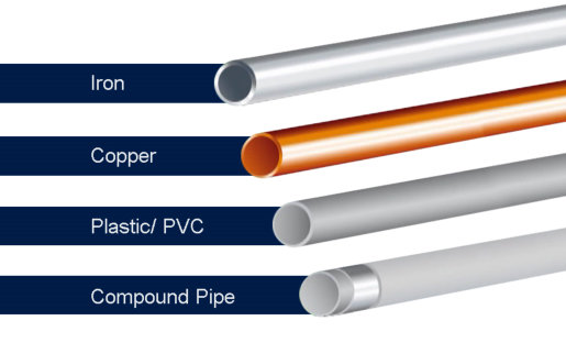 Vulcan can be installed over various pipe materials